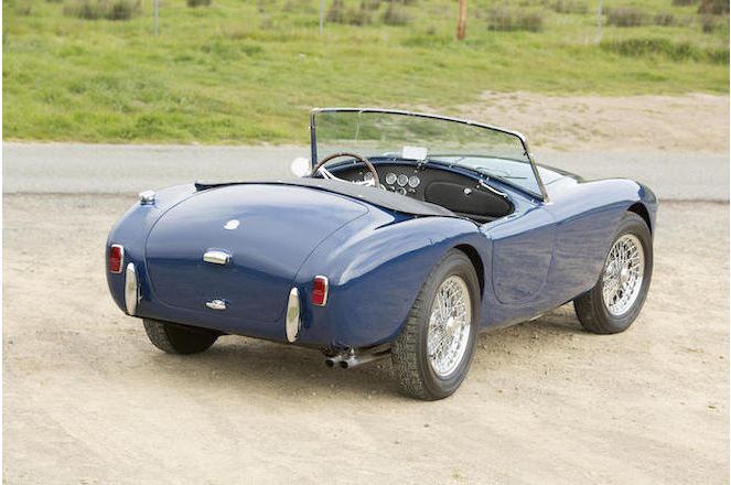 The lines of the AC Ace are similar to its contemporaries such as the MGA and the Austin-Healey 100 and later 3000 series.
