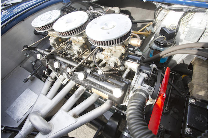 The two litre Bristol engine introduced in 1956 was a great improvement over its predecessor.