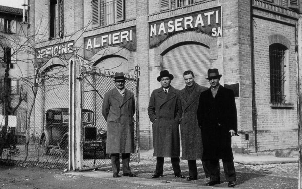 The Maserati brothers at O.S.C.A. in  San Lazzaro di Savena, Bologna. (PIcture courtesy of Flickr.com)