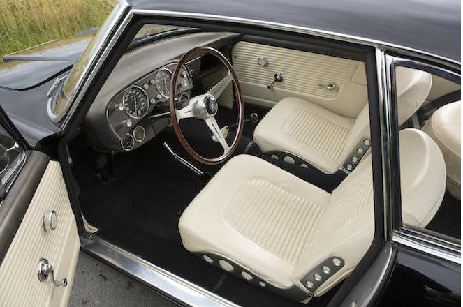 The interior is clean and funcitonal, yet comfortable and inviting.