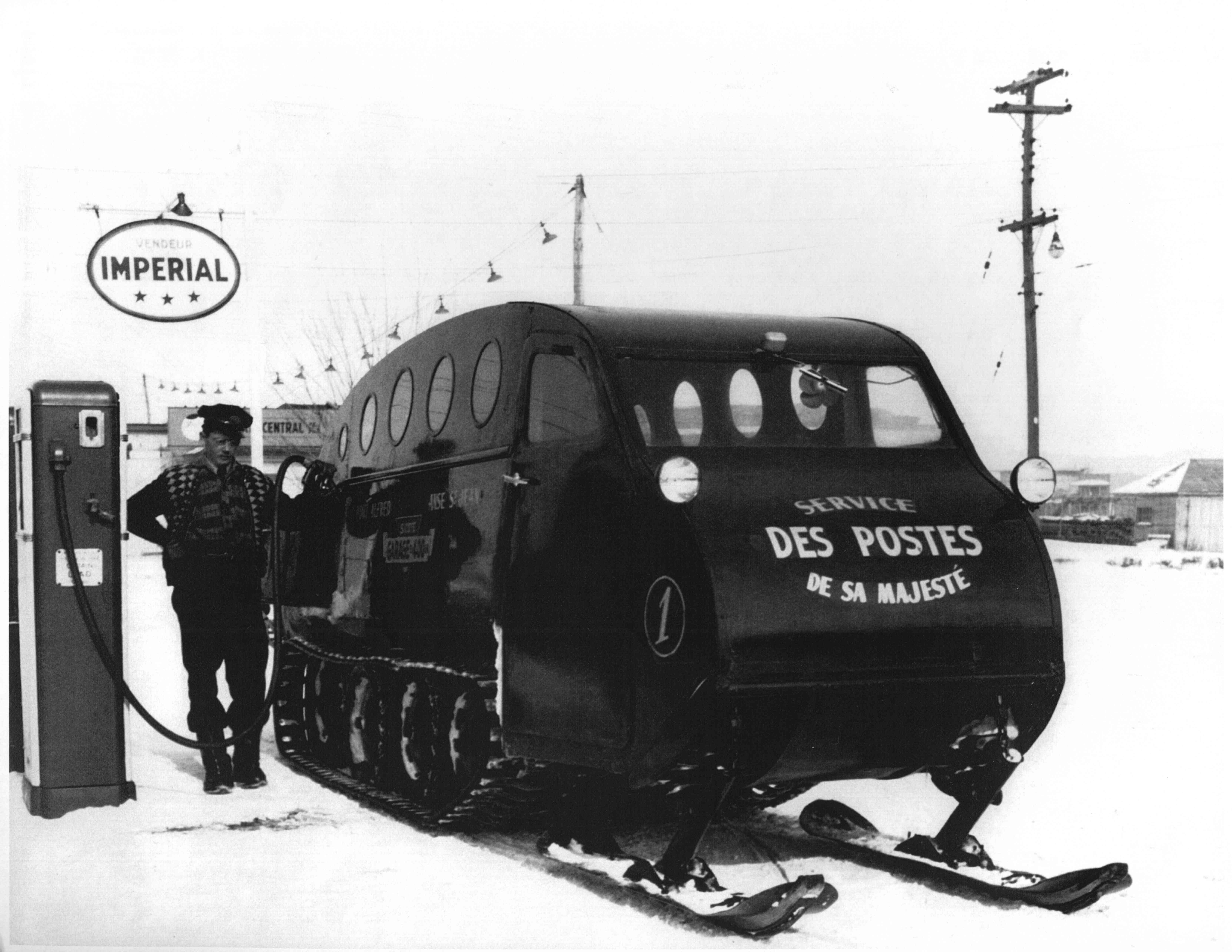 Bombardier snowmobile