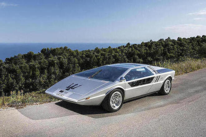 More futuristic than a DeLorean, the Maserati Boomerang stands at the apex of twentieth century car design.