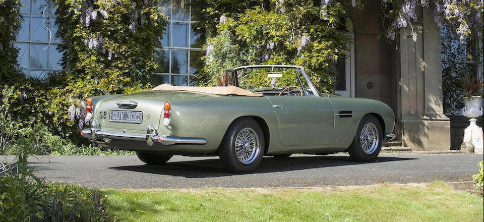 1965 Aston Martin DB5 Convertible 2