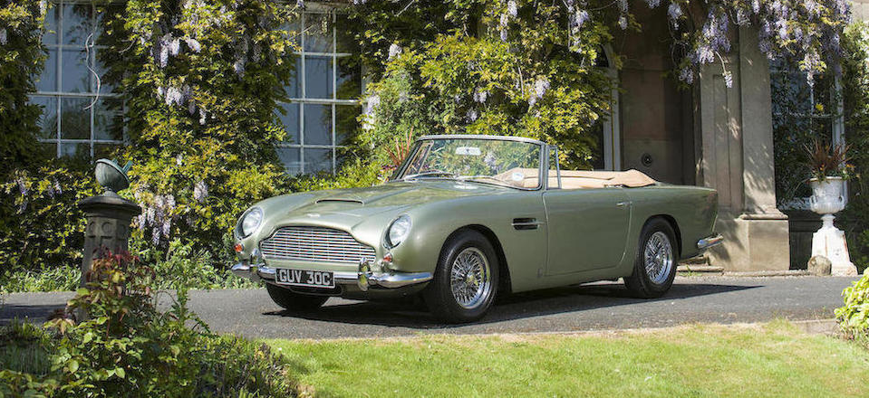 1965 Aston Martin DB5 Convertible 3