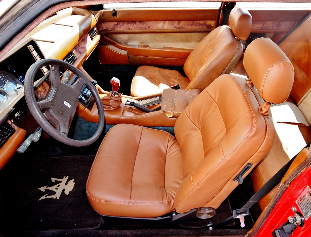 This is an interior that would respond equally well to restoration or customization. (Picture courtesy of Ebay).