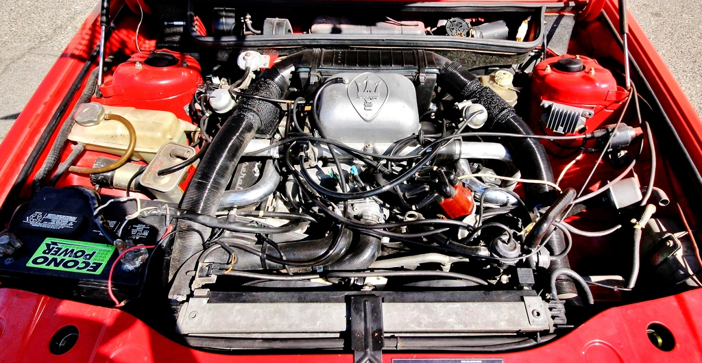 """The sale car is a Biturbo E (the """"E"""" meaning Export), and features the 2.5 litre engine. (Picture courtesy Ebay)."""