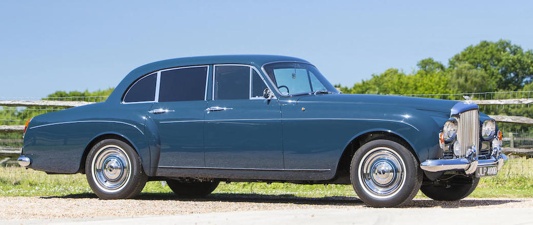 "Keith Richard's ""Blue Lena"" 1965 Bentley S3 Continental Flying Spur Sports Saloon-1"