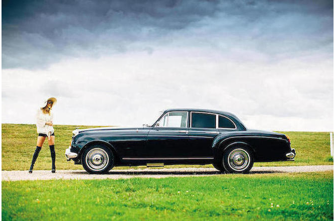 "Keith Richard's ""Blue Lena"" 1965 Bentley S3 Continental Flying Spur Sports Saloon-6"
