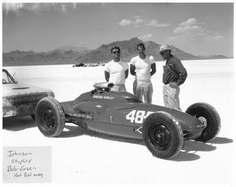 1963 Johnson Shipley Bonneville Land Speed Record Holder-4