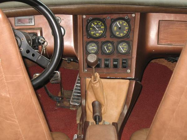 Interior of the Bradley GT MkII being offered on craigslist looks to be in decent shape.