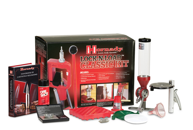 Hornady Lock-N-Load® Classic and Classic Deluxe Reloading Kits-085003-classic-kit-contents