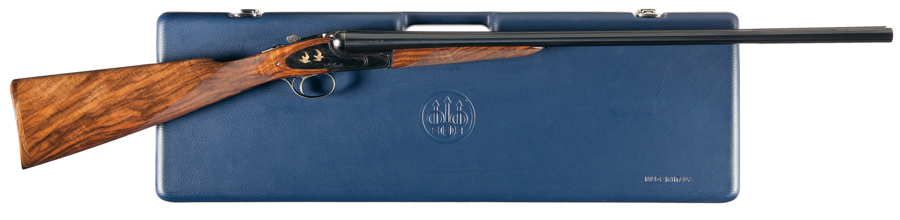 Beretta Silver Hawk 471 EL with English style straight stock and splinter fore-end. (Picture courtesy rockislandauction.com)