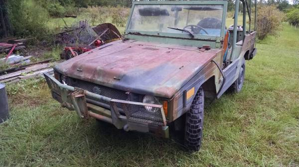 VW Iltis currently for sale on craigslist. (Picture courtesy craigslist).