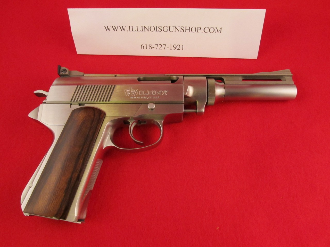 Wildey .45 Win Mag Pistol. Survivor Model with 7-inch barrel. (Picture courtesy Illinoisgunshop.com)