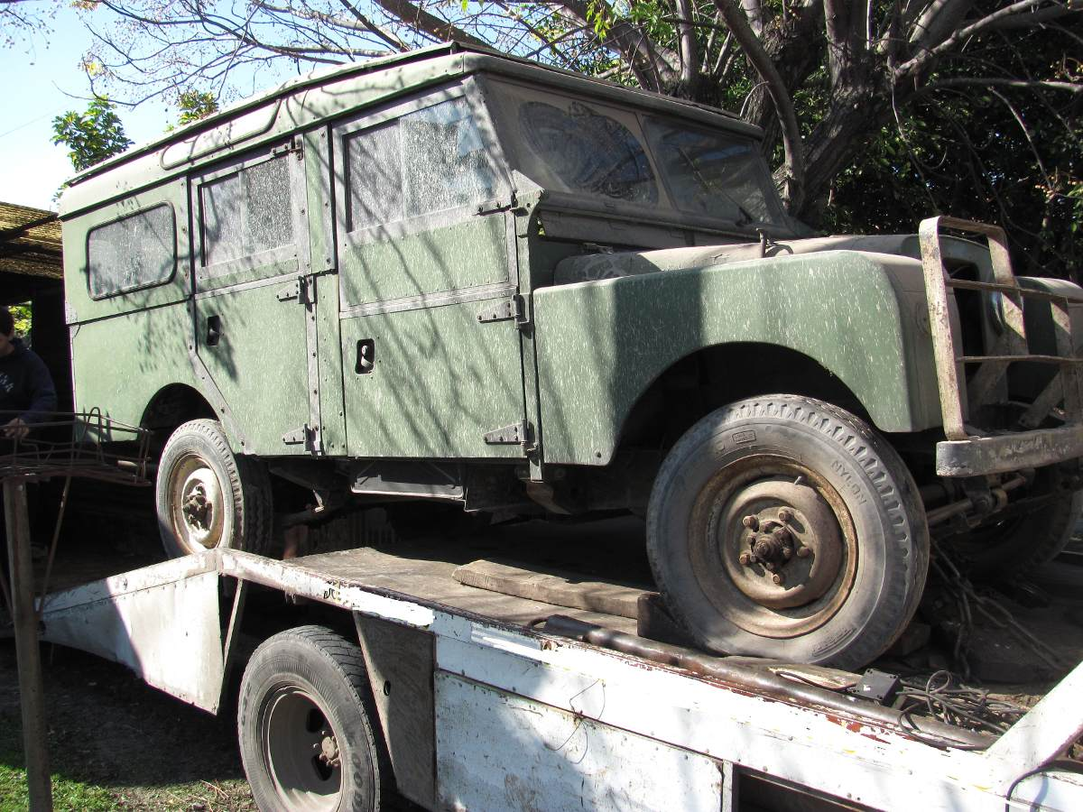 1956 Land Rover Series 1 107 Station Wagon Barn Find-1