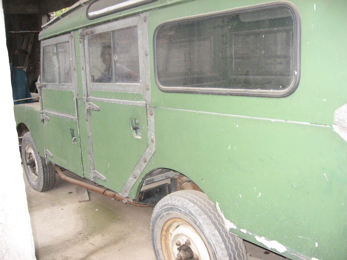 1956 Land Rover Series 1 107 Station Wagon Barn Find-3