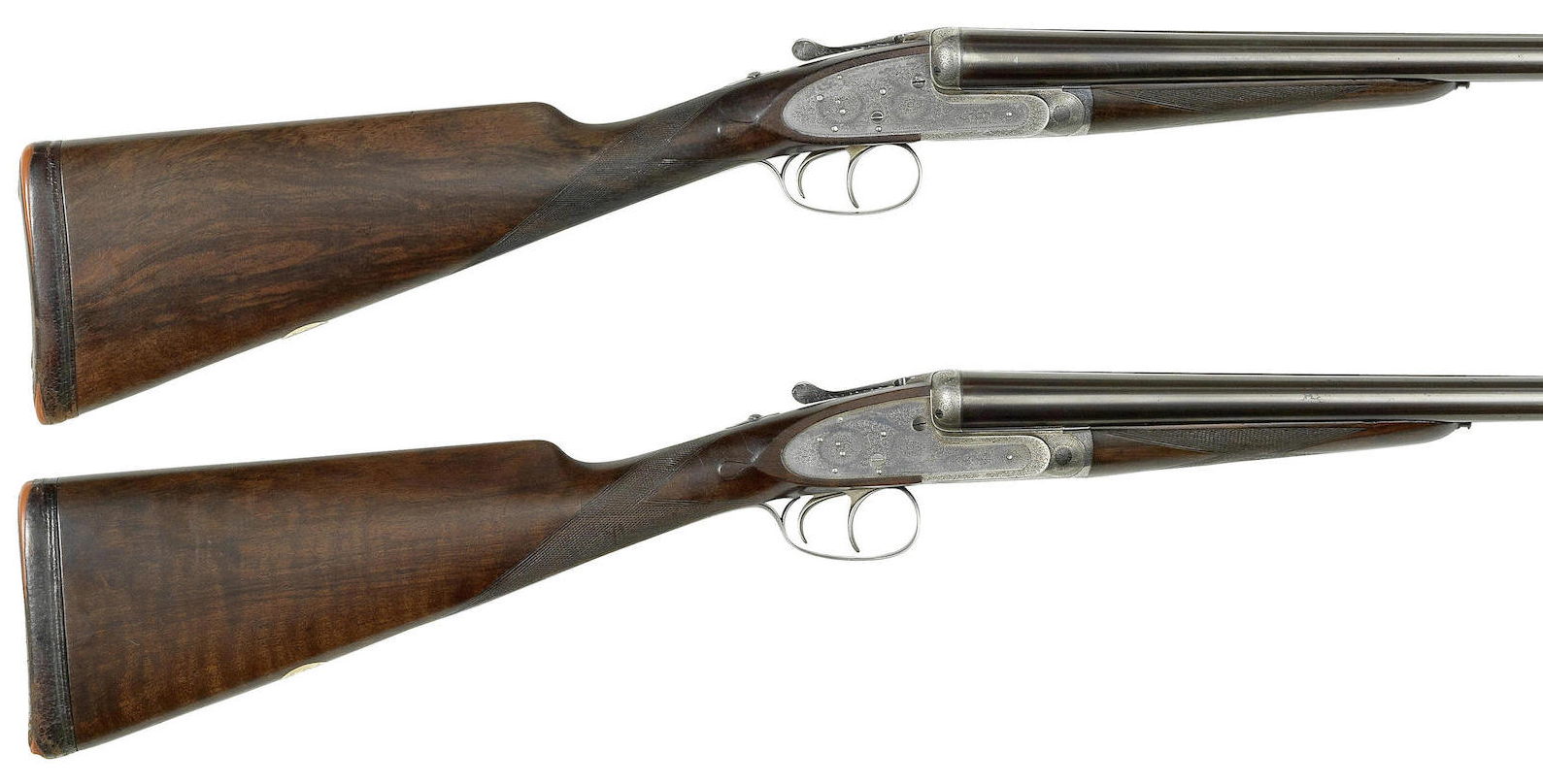 A fine pair of 12-bore self-opening sidelock ejector guns by J. Purdey & Sons, no. 25584-5a