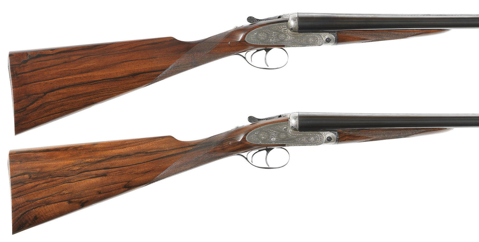 A pair of 12-bore self-opening sidelock ejector guns by J. Purdey & Sons, no. 15773-4a