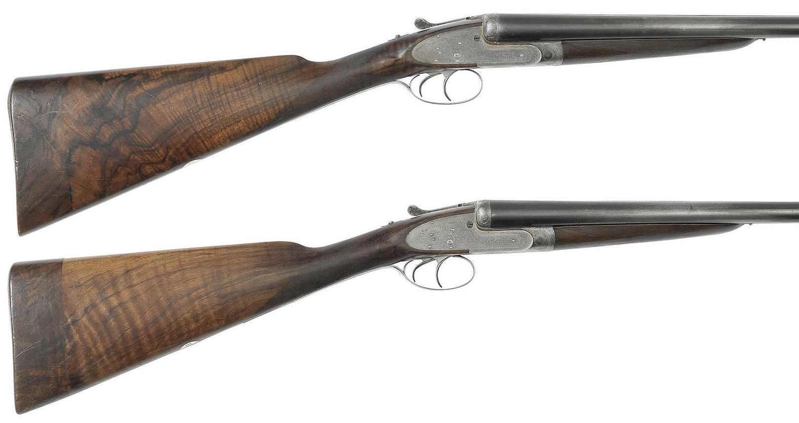 A pair of 12-bore self-opening sidelock ejector guns by J. Purdey & Sons, no. 15824-5a