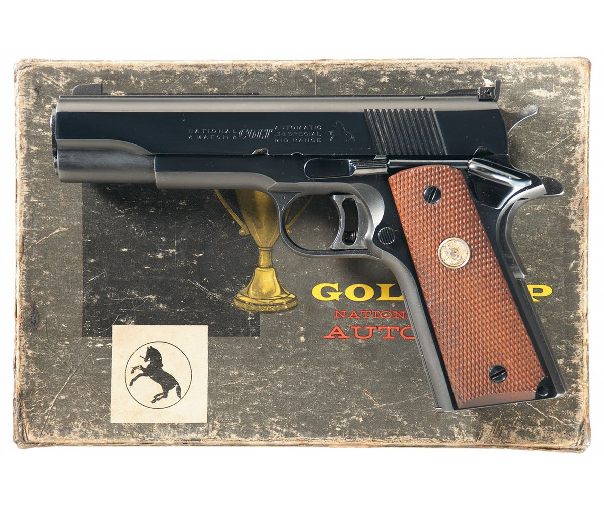 Colt M1911 Gold Cup National Match .38 Special Mid-Range-2-icollector.com