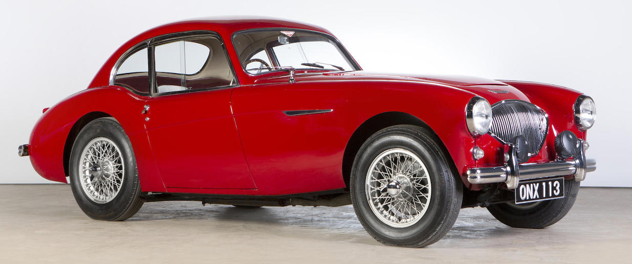Donald Healey's 1953 Austin-Healey Coupé-3