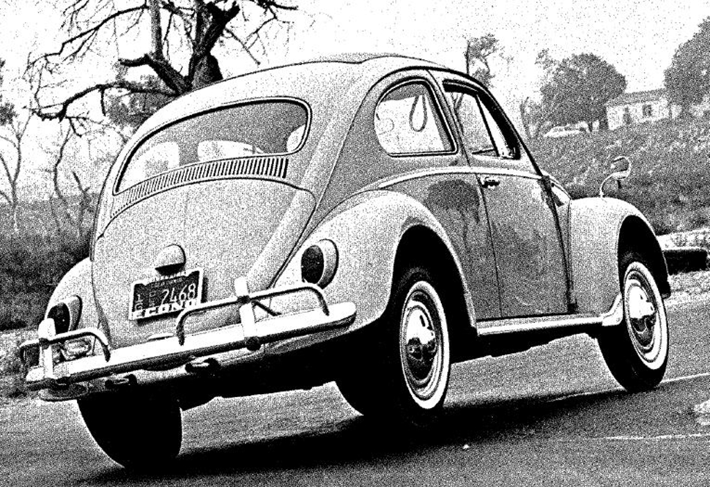 "The early model Volkswagens, before the creation of the ""Superbug"" used swing axles which would cause the car to become unbalanced if a driver tried to brake whilst cornering. (Picture courtesy jalopnik.com)"