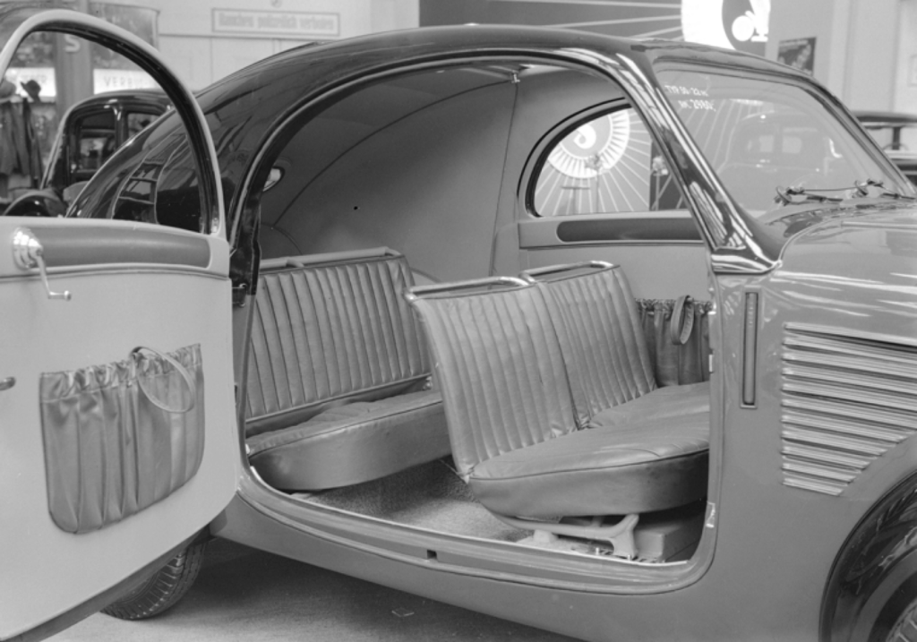 "Interior of the Steyr ""Baby"" is simple yet comfortable. (picture courtesy nationalmediamuseum.org.uk)"