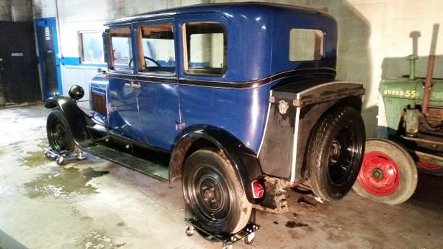 1928 Citroën AC4 Barn Find - Revivaler