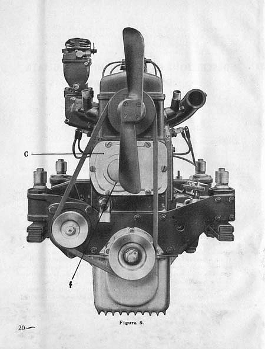 Illustration 2: Engine mounting system of the Lancia Artena (image courtesy lancianews.com)