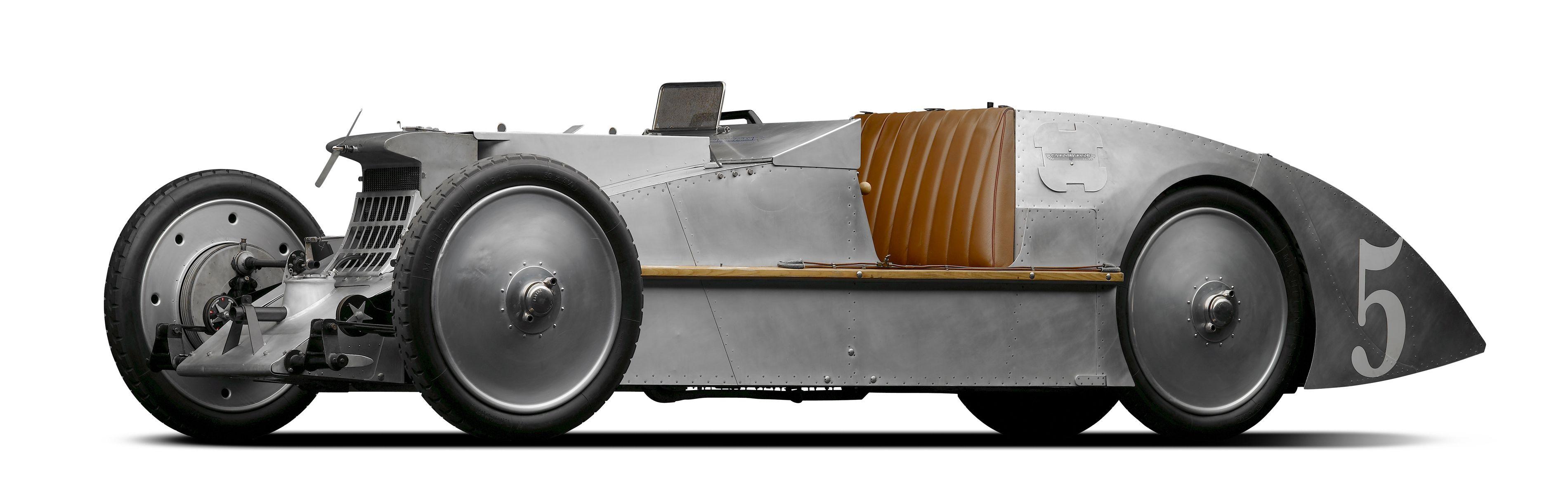 Voisin's C6 Laboratoire was an imaginative approach to creation of a Grand Prix car utilizing Voisin's knowledge of aircraft design. (Picture courtesy auto100.com).