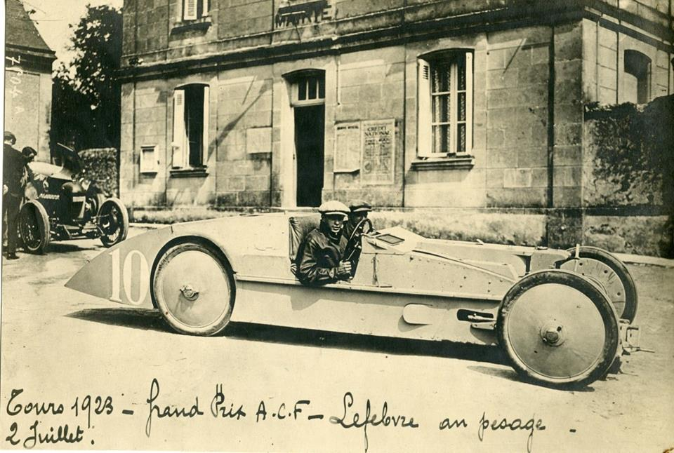 Original 1923 photo of one of the C6 Laboratoire. (Picture courtesy jalopyjournal.com)