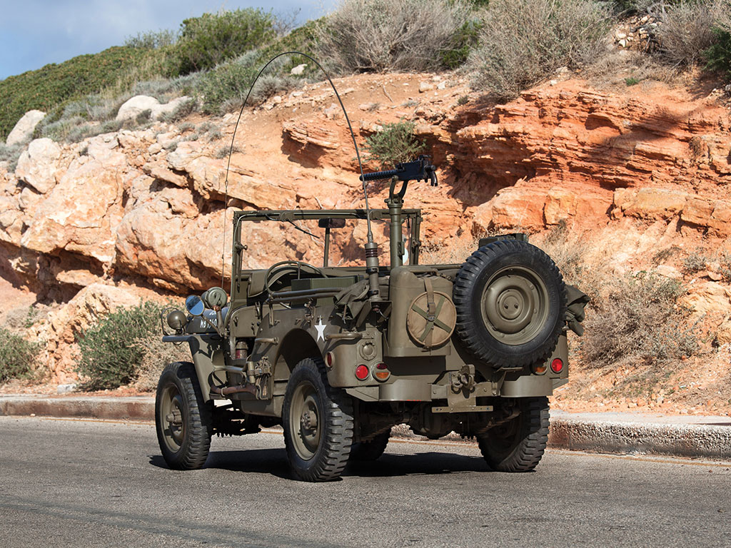 Thjis 1942 Willys Jeep is beautifully restored and functional. (Picture courtesy RM Sotherby's).