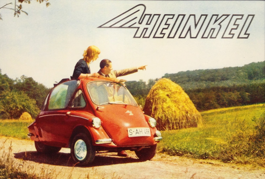 The Heinkel Bubble Car. (Picture courtesy Heinkel).