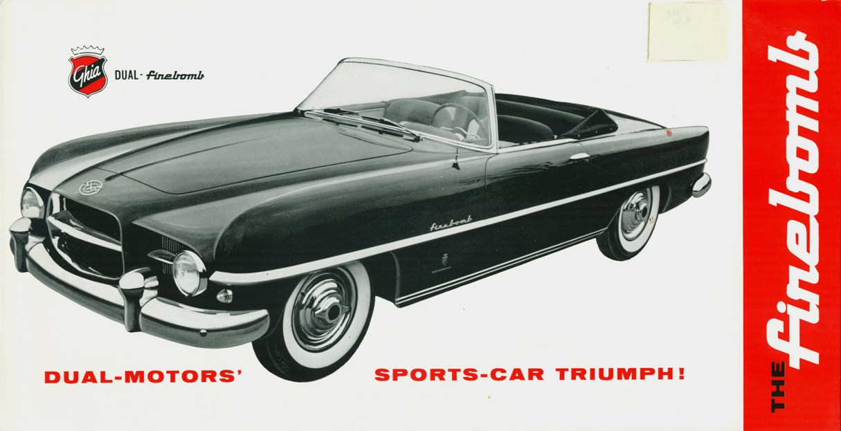 The Dodge Firebomb created by Ghia in 1953. (PIcture courtesy carstyling.ru).