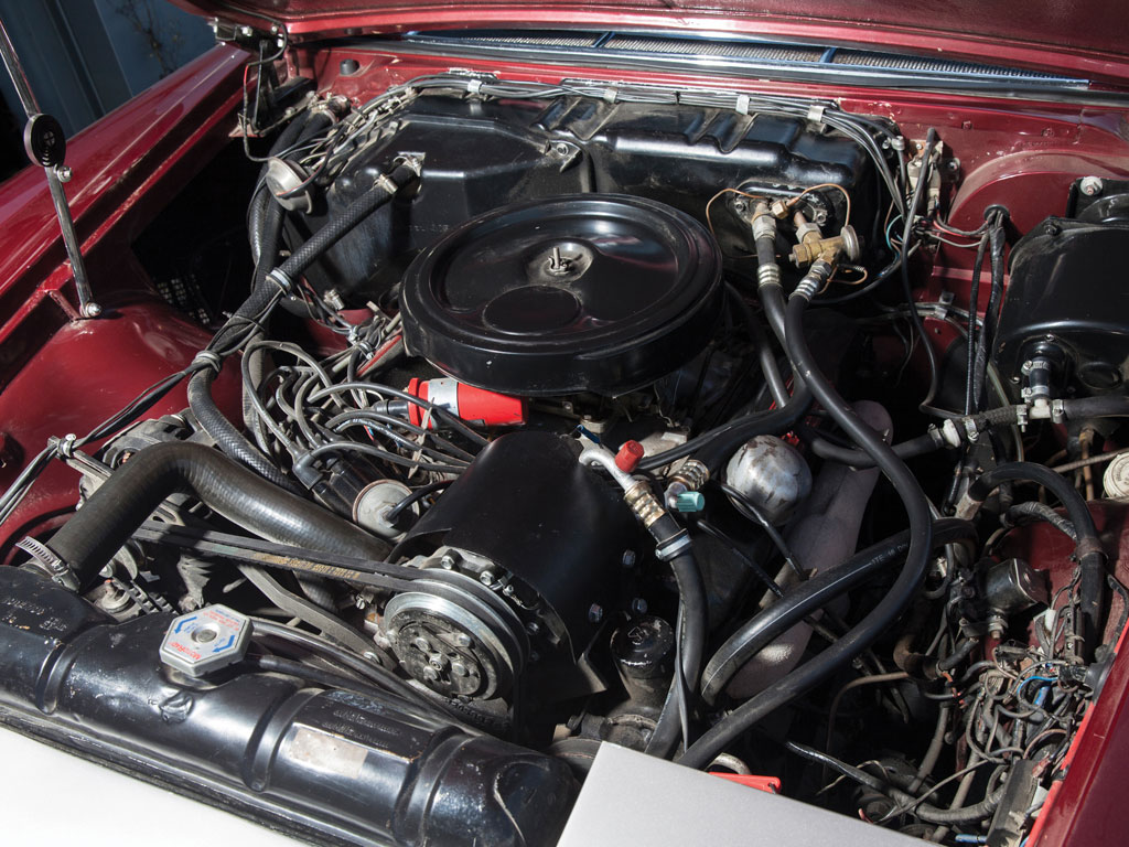 Chrysler 6.4 litre (383 cu in) V8 produces 335bhp.. (Picture courtesy RM Sotherbys).