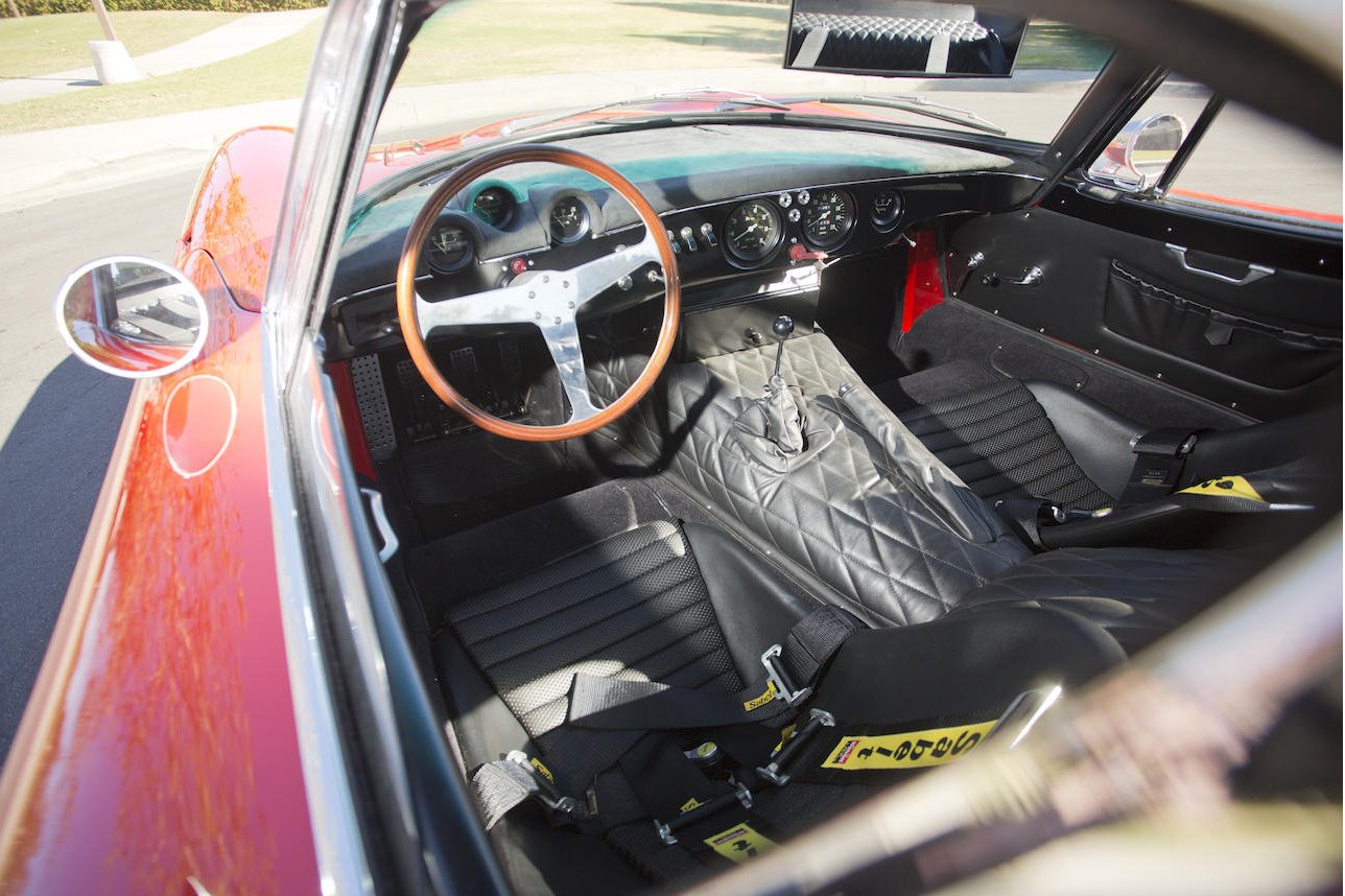 The instrument layout on the dashboard is made for functional practicality. (Picture courtesy Bonhams).