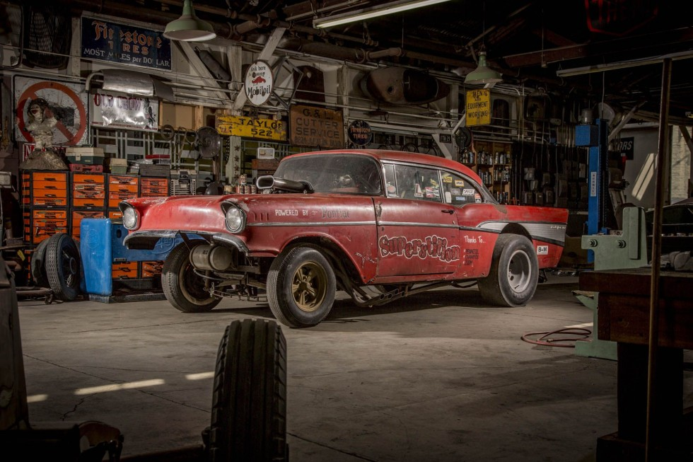 57 Chevy Gasser The Resurrection Of Quot Superstition