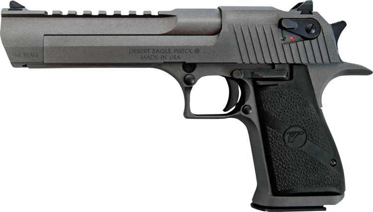 USA made Desert Eagle in Tungsten finish. (Picture courtesy Cabela's).