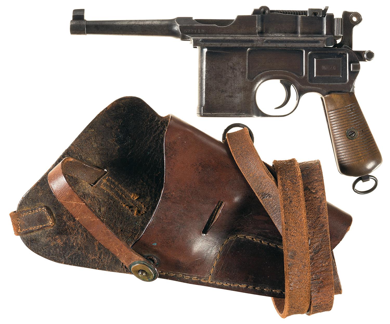 Mauser Bolo Broomhandle Semi-Automatic Pistol