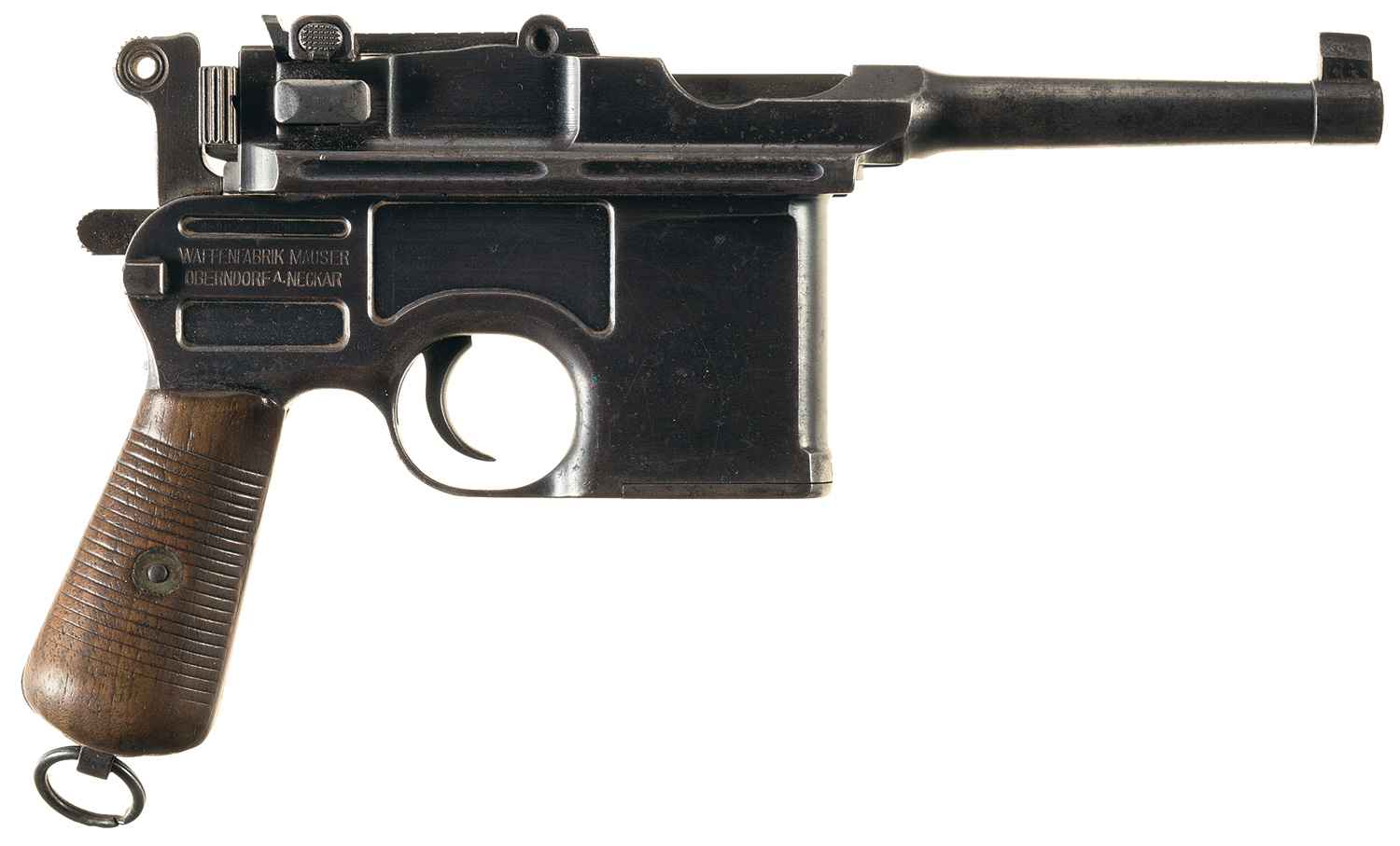 This Bolo Mauser has its original bluing and is describes as being in very good condition with all original parts. (Picture courtesy Rock Island Auction).