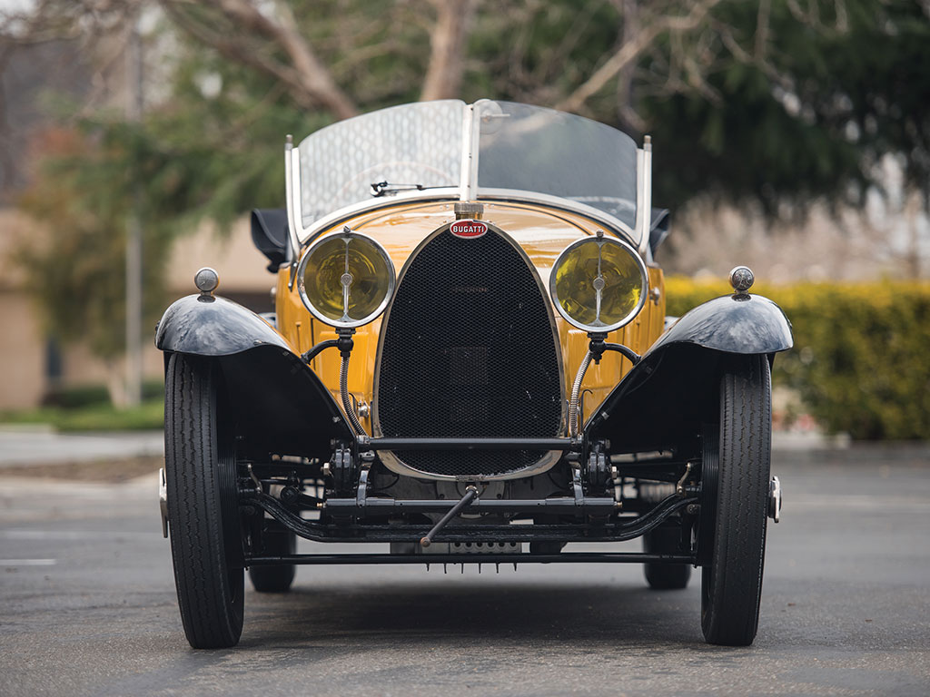 Although the coachbuilder for this Bugatti Type 30 is unknown he has done an amazing job of giving the car character. (Picture courtesy RM Sotherby's).