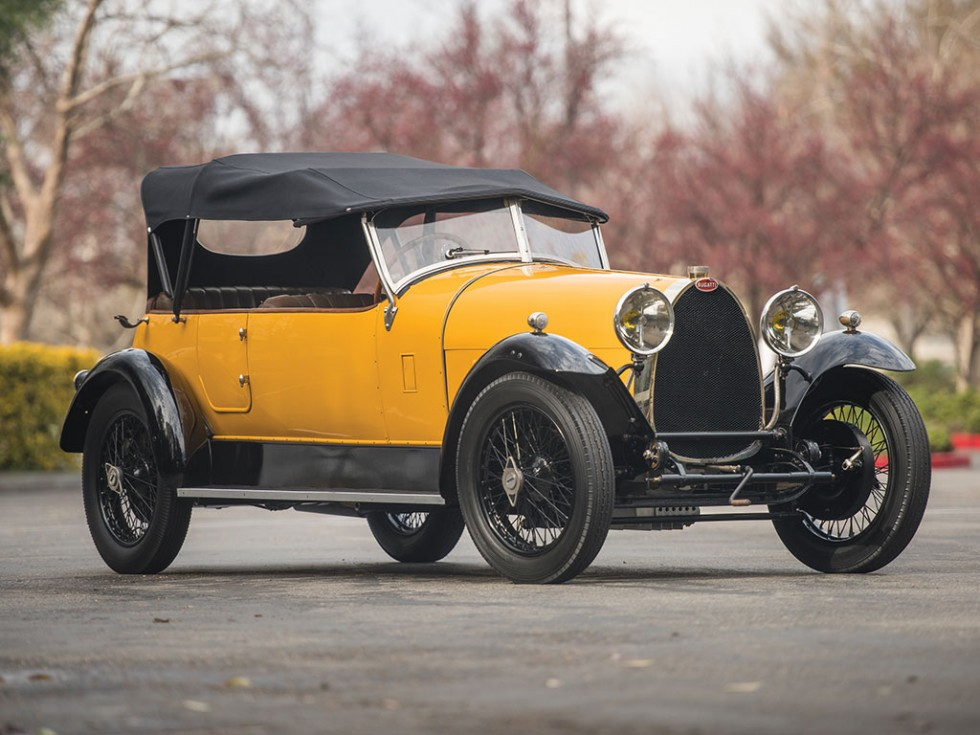1925 Bugatti Type 30 Tourer Revivaler