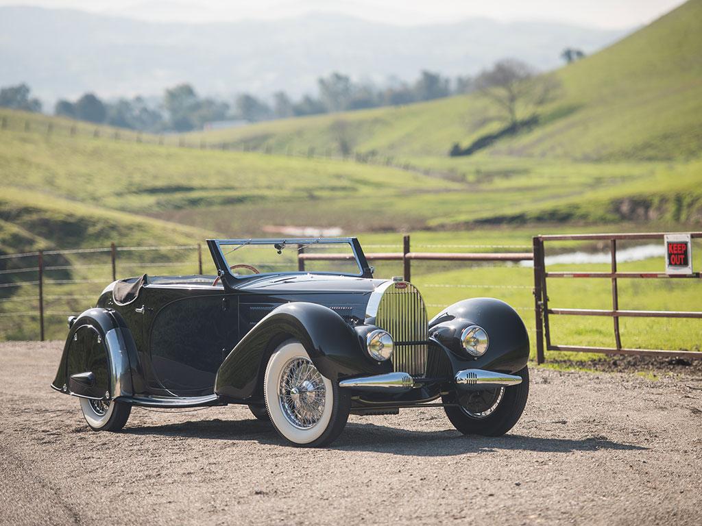 1936 Bugatti Type 57 Stelvio Revivaler
