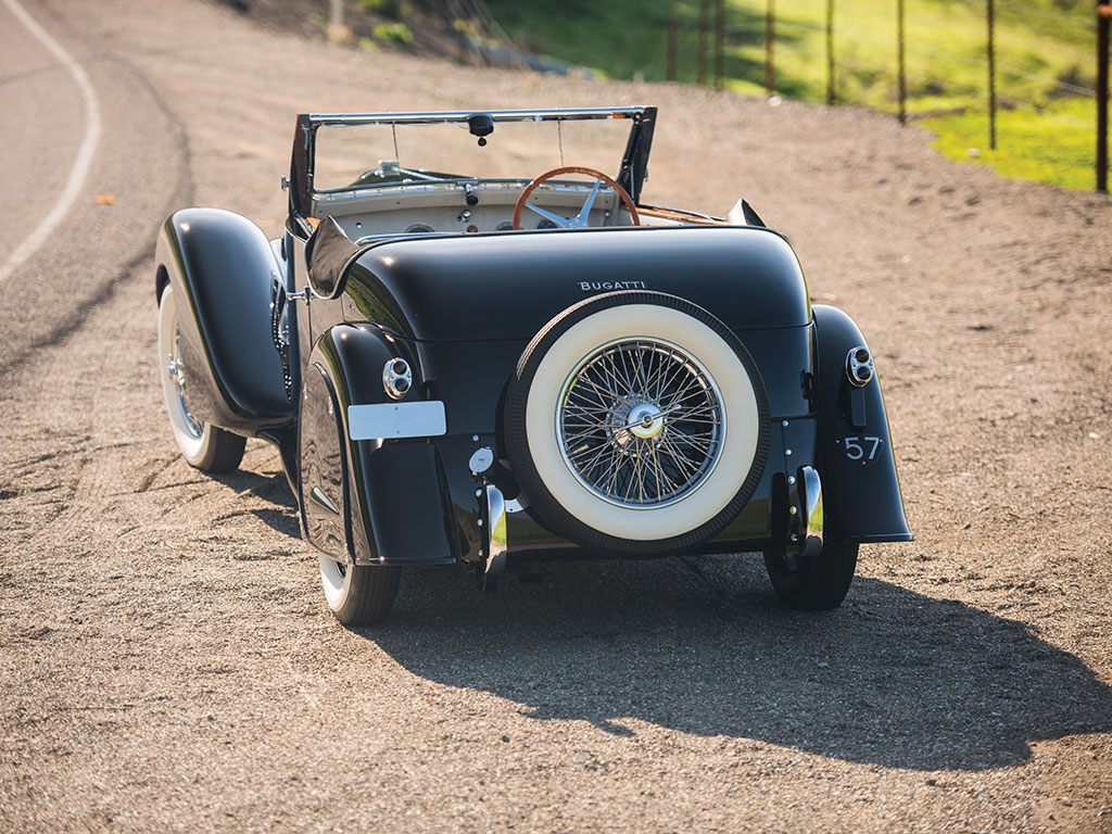 The Type 57 represents the last design efforts of Ettore and Jean Bugatti. (Picture courtesy RM Sotherby's).