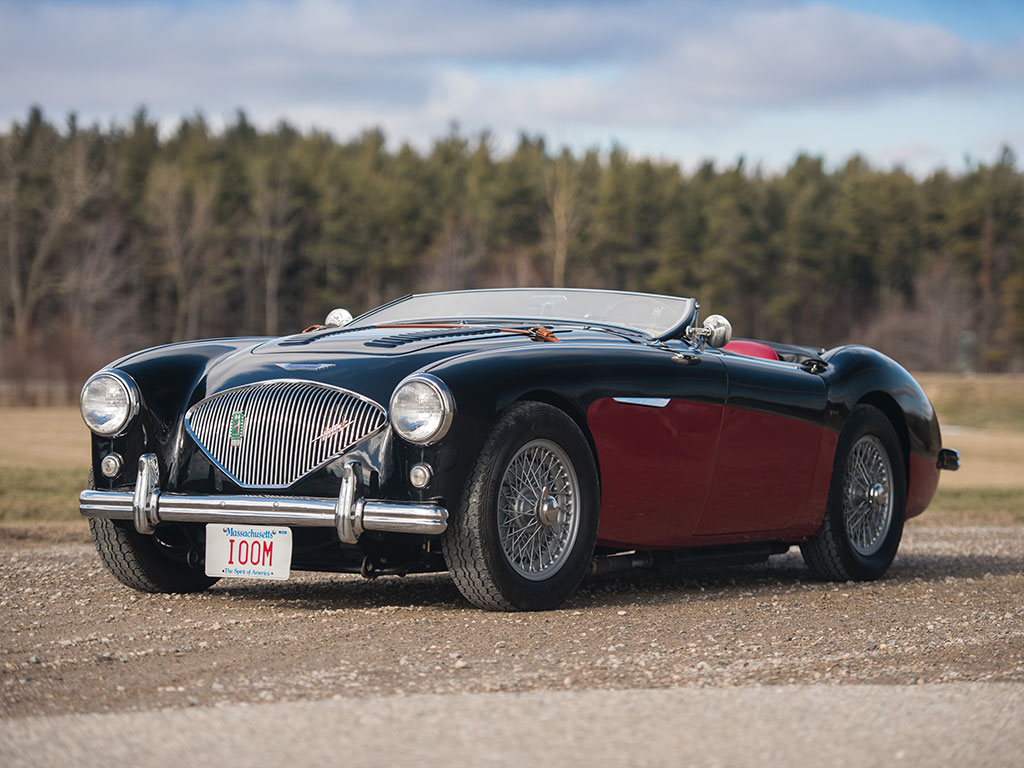 1956 austin healey 100 m 39 le mans 39 revivaler. Black Bedroom Furniture Sets. Home Design Ideas