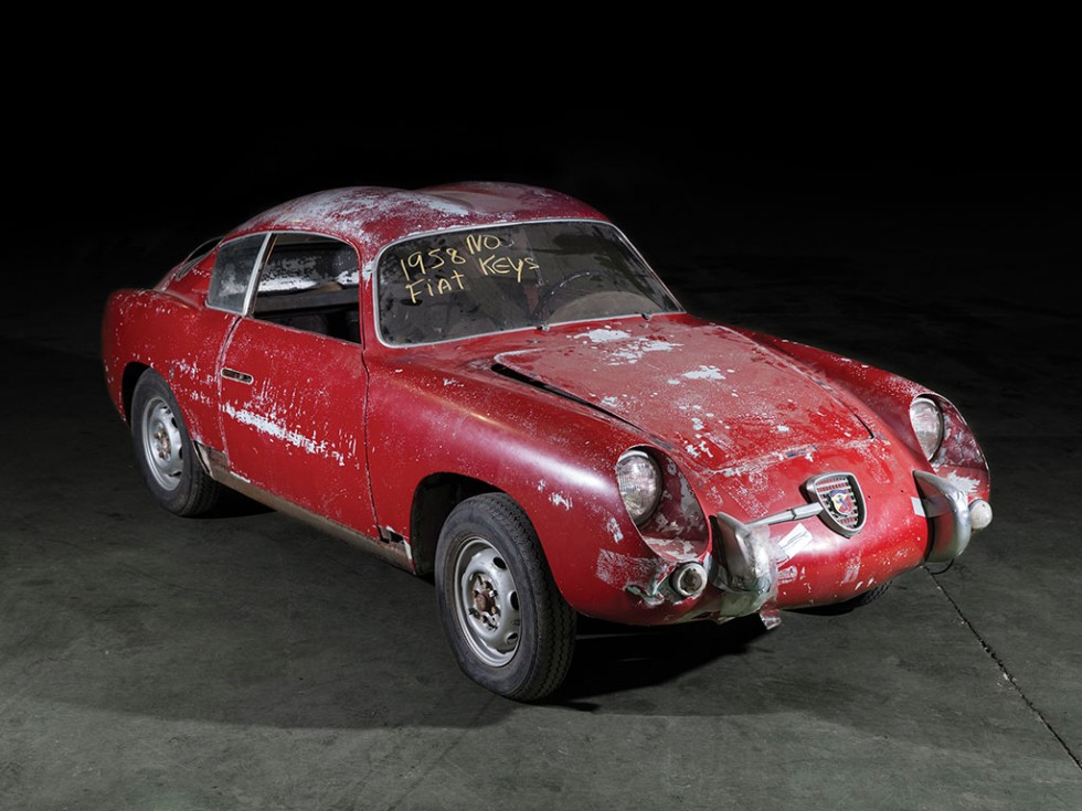 1958 Fiat Abarth 750 Gt Double Bubble By Zagato Revivaler