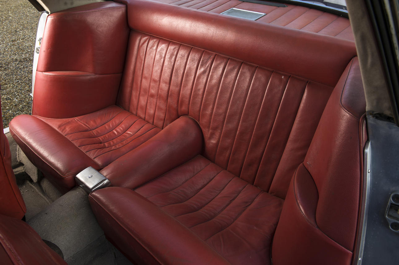 The 3500 GT is a 2+2 and the rear seats are adequate, as one would expect. (Picture courtesy Bonhams).