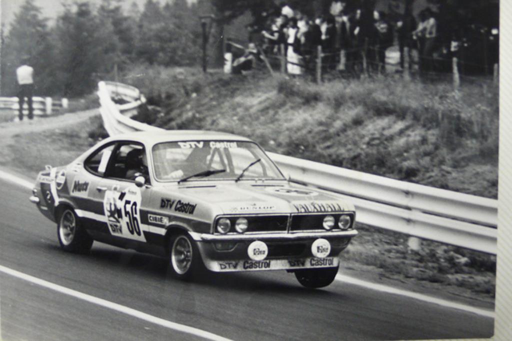 As the Spa circuit and Peter Brock's familiar Mount Panorama are both created by closing normal roads so he had some familiarity with the particular demands such circuits create. (Picture courtesy www.spa24.com).