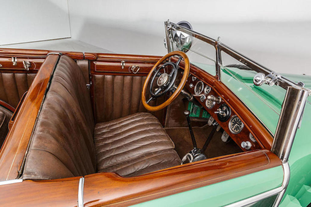 By the time he was coachbuilding this car in 1928 Jacques Saoutchik was in his twenty second year of creating the best quality bodies and interiors for luxury cars. (Picture courtesy Bonhams).