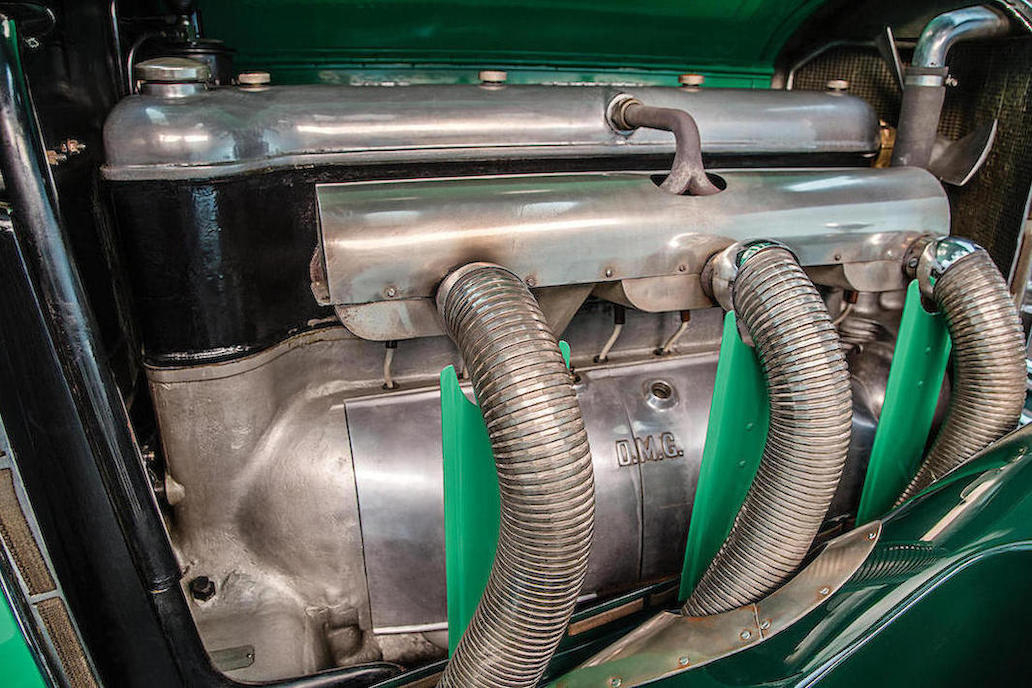 The power plant of the Mercedes 24/100/140 which was renamed the Type 631 after Daimler merged with Benz & Cie forming Mercedes Benz. (Picture courtesy Bonhams).